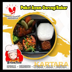 PAKET AYAM BAKAR/GORENG