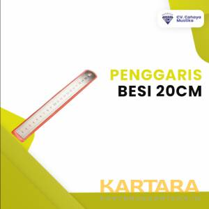 PENGGARIS BESI 20CM -ATK