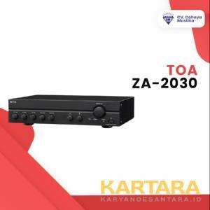PENGUAT SUARA TOA ZA-2030 MIXER AMPLIFIER 30W (AC/DC)