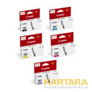 Tinta Cartridge CLI 781 B/C/M/Y/GY (5 colour)